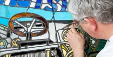 Commission stained glass art of your car