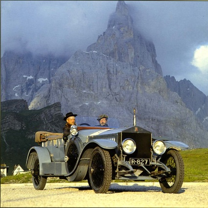 Radley Ghost, Rolle Pass in the Dolomites