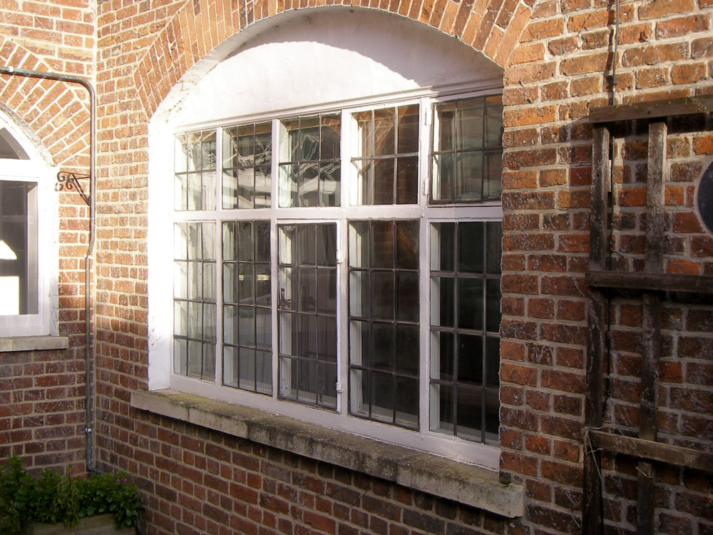 leaded window restoration St Denys Bury St Edmunds - Kettonglass