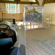 Radley panel on display in P & A Wood's showroom