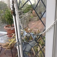 French Resistance – leaded glass window repair