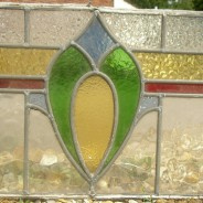 Original Solopark leaded glass going green with recycling.