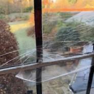 Cracks appear in Much Hadham
