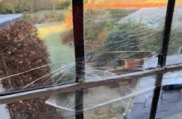 Cracks appear in Much Hadham