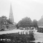 Spaldwick – restoration leaded glass