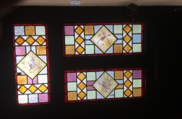 Kensal Green stained glass refurb